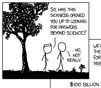 Sicknesss webcomic, from xkcd