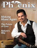Cover of the December 2011 issue of The Phoenix Magazine