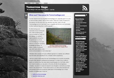 TomorrowSage website