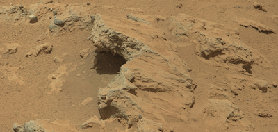 Mars Streambed discovered by Curiosity