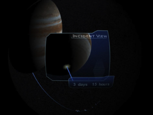 Artist's conception of Shoemaker-Levy 9 impacts — Image Credit: NASA