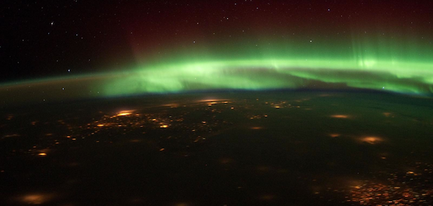 Aurora over the Midwest