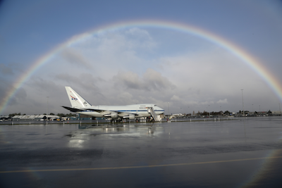 NASA's SOFIA 747 Aircraft
