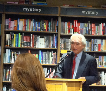 Michio Kaku speaks at Boswell Book Company.