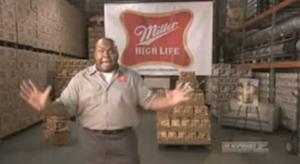Miller 1-second Super Bowl ad